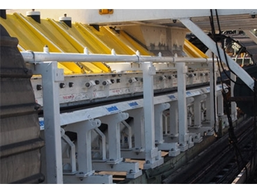 Dynamic Impact Beds promote safer operation reducing possible downtime and injury time