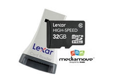 32GB Class 10 High-Speed Mobile microSDHC Card