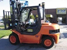 Samsung SF40D Used Forklift