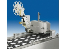 ELS 500 cross web labelling machines have a modular component assembly