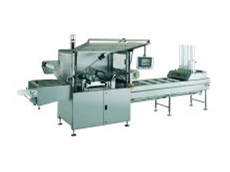 Tray sealing and thermoforming machine.