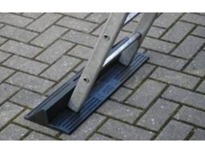 Ladder protector anti-slip device