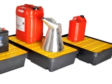 New spill trays from Liquatex