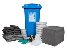 Oil, Chemical and Hazard Spill Control Kits  by Liquatex