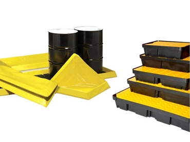 Portable Bunds and Spill Trays