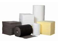 Pads and rolls used to absorb unwanted liquids