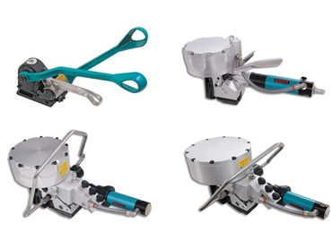 Manual Sealless and Pneumatic Steel Strapping Tools
