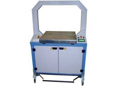 Schneider & Ozga SA 01 automatic strapping machine available from Live Industrial