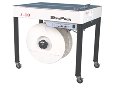 Live Industrial i-10 semi-automatic strapping machine