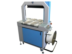 The TM01 fully automatic strapping machine is