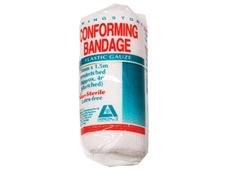 Conforming gauze bandages