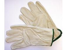Cow grain rigger gloves