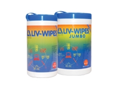 Liv-Wipes alcohol wipes