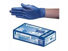 Universal Blue Vinyl Gloves