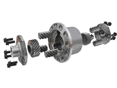 Detroit Truetrac limited slip differential for Vehicles using Dana 60 axles
