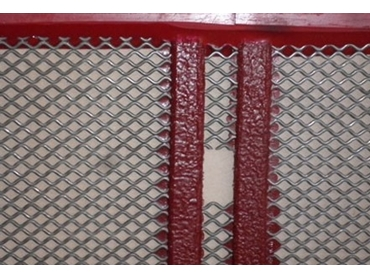 Hard wearing Poly Ripple Screens for resilience in high traffic areas