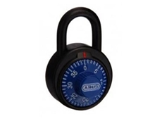 Abus blue dial combination padlock