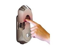 Biometric fingerprint deadbolt lock from Locks Galore
