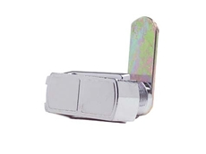 Chrome plated finish Cam lock