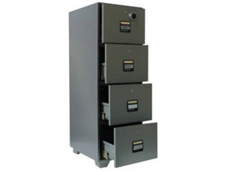 Delta 4 Drawer Fire Resistant Filing Cabinet