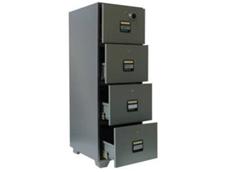 Delta 4 Drawer Fire Resistant Filing Cabinet