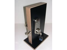 The KEEFREE electronic deadbolt