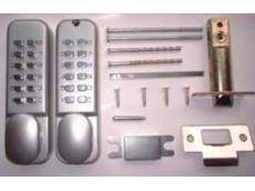 LG202 Dual keypad digital lock with new easy code change from Locks Galore