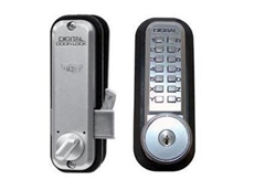 Lockey 2500KO digital sliding door lock