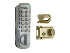 Lockey 2130 security night latch digital door locks