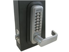 Digital keyless locks from Locks Galore.