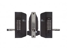 Easy to mount  Marine Grade dual keypad digital gate lock