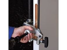 The DBB Morticer produces a perfect lock recess every time