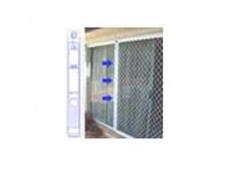Water closer for sliding screen doors