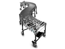 Powered expandable conveyor belts