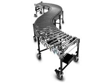 Powered expandable conveyor belts