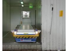 LongReach telescopic conveyor at Sams Seafarm