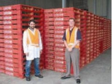 Loscam pallets at Bulla Dairy Foods