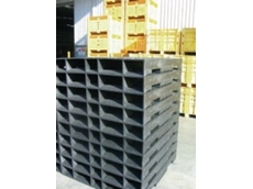 Plastic pallet and HMS systems
