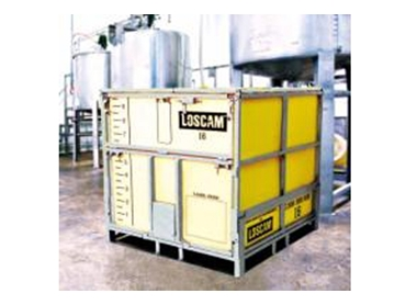 Chemical resistant, strong and easy to handle IBC