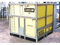 Loscam's new intermediate bulk containers feature a low level discharge outlet