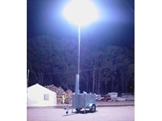 Glare-free Lunar Lighting Tower