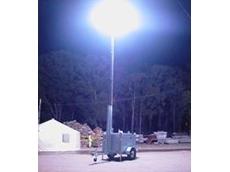 Glare-free Lunar Lighting Tower