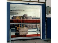 External High Speed Sectional Door