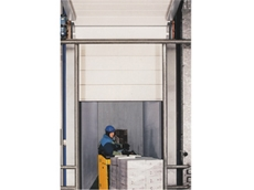 High Speed Sectional Doors with Various Activation System Methods from M.T.I. Qualos