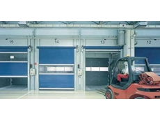 Industrial High Speed Sectional Roller Doors