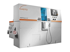KASTO bandsawing machines from M.T.I. Qualos for economical high performance cutting