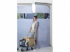 M.T.I.'s new aluminium flexible 'see-thru' swing doors