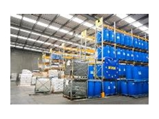 The  New warehouse storage area of Consolidated Chemicals