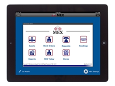 MEX released their maintenance management software on the iPad