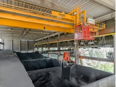 Case Study: Cement manufacturer automated rugged crane installation